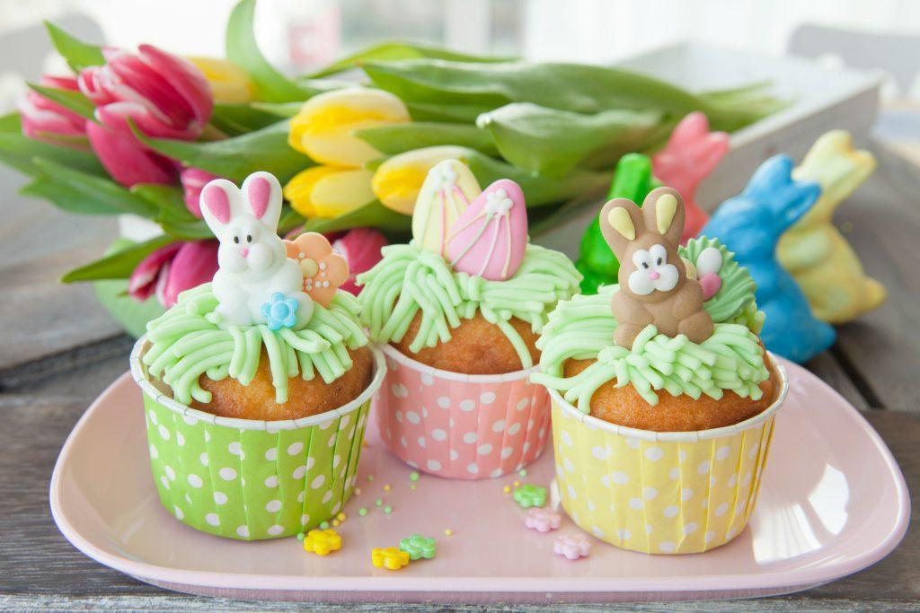 como vender doces artesanais na pascoa_cupcake
