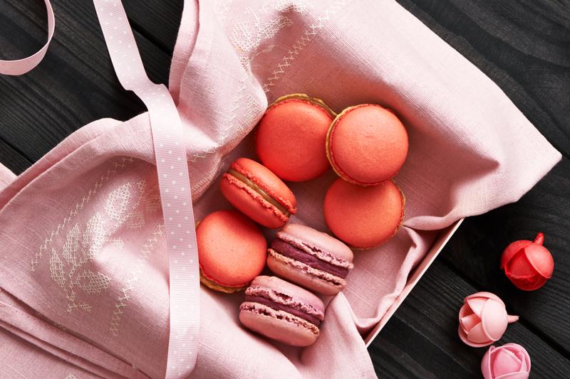 embalagens monocromáticas para doces