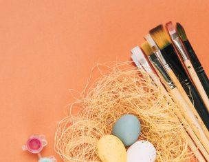 moldar ovos de pascoa